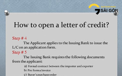 Documentary Credit and Letter of Credit