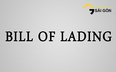 Content of a Bill of Lading B/L