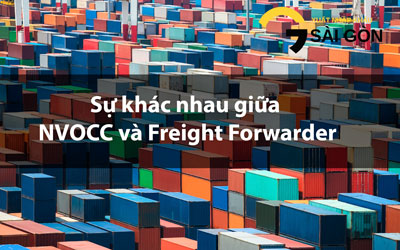 Difference between Freight FWD and NVOCC