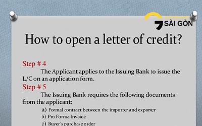 How To Open An L/C At Bank In Vietnam?
